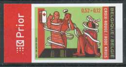 [602963]TB//ND/Imperf-c:15e-Belgique 2006, N° 3525, Croix Rouge, Red Cross, Secourisme, ND/Imperf - Croix-Rouge
