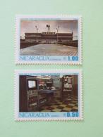 Nicaragua 1982 Telecomunication Day - Radio Transmission Station - TELCOR Building In Managua - Nicaragua