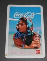 PETIT  CALENDRIER DE LE MARQUE COCA-COLA  DE PORTUGAL  - 1988 - Calendriers
