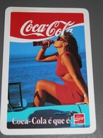 PETIT  CALENDRIER DE LE MARQUE COCA-COLA  DE PORTUGAL  - 1989 - Calendriers