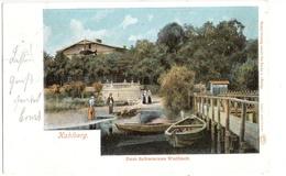 KAHLBERG Boot Steg Krynicka Morska Color Zum Schwarzen Wal Fisch 21.6.1902 Gelaufen - Ostpreussen