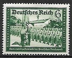 GERMANIA TERZO REICH 1941 A PROFITTO DEI PORTALETTERE TEDESCHI UNIF. 697 MLH VF - Nuevos