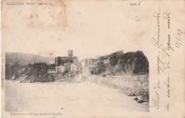 ***  PAIS VASCO   ***   GUETARIA Vista Desde El Muelle Un Peu Sale Peu Courante - Guethary