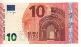 """10 EURO  """"Greece""""  DRAGHI  Y 005 I4   YA2705448932 /  FDS - UNC - EURO"""