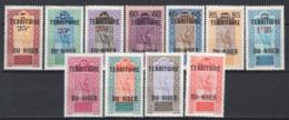 Niger 1922/26 Y.T.18/28 */MH VF/F - Niger (1921-1944)