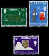 GIBRALTAR Nr 221-223 Postfrisch S04B366 - Gibraltar