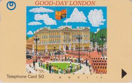 TC Japon / 110-65434 - Angleterre - Série GOOD DAY LONDON - BUCKINGHAM PALACE - ENGLAND Rel Japan Phonecard - Site 181 - Japan