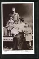 AK Archduke Francis Ferdinand Of Este & Family - Königshäuser