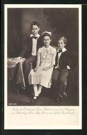 AK Kinder Des Erzherzogs Franz Ferdinand Und Der Herzogin Von Hohenberg Prinz Max, Prinzessin Sophie, Prinz Ernst - Königshäuser