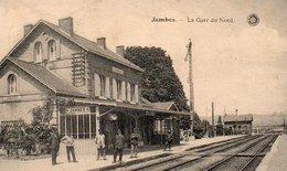 Jambes  La Gare Du Nord Circulé En 1922 - Namur