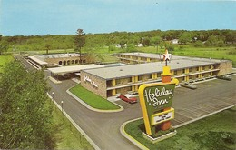Etats Unis Hotel Holiday Inn Muskegon Michigan (2 Scans) - Etats-Unis