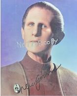 AUTOGRAPHED  PHOTO  STAR  TREK  DEEP  SPACE  9   Signed   ODO - Autographs