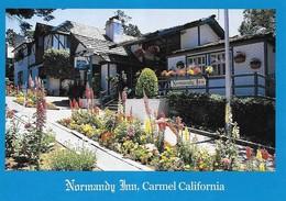 Etats Unis Carmel California Hotel Normandy Inn(2 Scans) - Etats-Unis