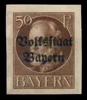 BAYERN Nr 125IIB Postfrisch X8902C2 - Bayern (Baviera)