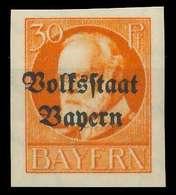 BAYERN Nr 123IIB Postfrisch X89031E - Bayern (Baviera)