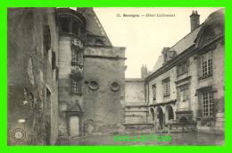 BOURGES (18) - HÔTEL LALLEMANT - NOUVELLES GALLERIE - ÉCRITE EN 1907 - - Bourges