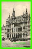 BRUXELLES, BELGIQUE - MAISON DU ROI - TRÈS ANIMÉE - H. M. DOBRECOURT, UCCLE - - Places, Squares