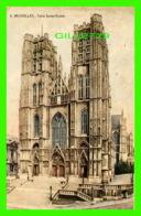 BRUXELLES, BELGIQUE - EGLISE SAINTE-GUDULE - CIRCULÉE EN 1919 - - Monuments, édifices