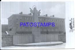 115711 ARGENTINA MAR DEL PLATA BUILDING & MONUMENT AÑO 1945 PHOTO NO POSTAL POSTCARD - Fotografia