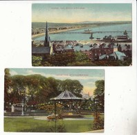 CPA Angleterre - Somerset - Weston Seper Mare  : 2 Cartes  :  Achat Immédiat - Weston-Super-Mare