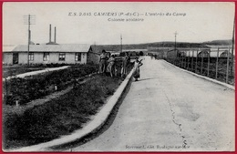 CPA 62 CAMIERS - L'Entrée Du Camp - Colonie Scolaire ° Stevenard édit. - France