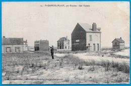CPA 62 St SAINT-GABRIEL-PLAGE (CAMIERS) Par Etaples - Les Chalets ° Caron-Caloin, Photo-édit - France