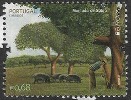 Portugal 2011 Europa. Forests 68c Good/fine Used [20/18721/6D] - Oblitérés