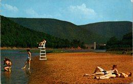 Pennsylvania Beach At George B Stevenson Dam Along State Road 872 - United States