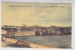 Gesamtansicht Von Lowitsch - Um 1915 / Hinten Haftstellen - Polonia