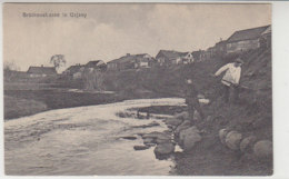 Brückenstrasse In Uzjany - Um 1915 Hinten Haftstellen - Ostpreussen