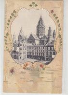 Mainz - Dom, Westansicht - Um 1905 Spinne Im Netz - Mainz