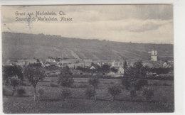 Gruss Aus Marlenheim, Els. - 1912 Soldatenkarte Nach Darmstadt - Elsass