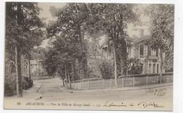 (RECTO / VERSO) ARCACHON - N° 86 - VERS LA VILLA DE GEORGE SAND - CPA VOYAGEE - Arcachon