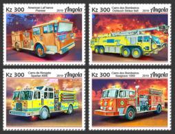Angola   2019 Fire Engines ,fire Trucks  S201905 - Angola