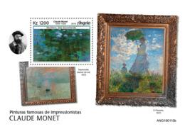 Angola   2019  Famous Impressionist Paintings  S201905 - Angola