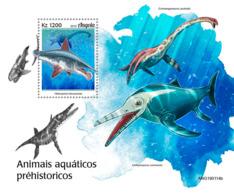 Angola   2019 Fauna  Prehistoric Water Animals   S201905 - Angola