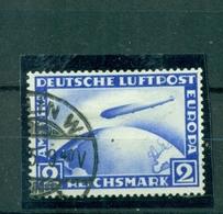 Deutsches Reich,Zeppelin über Weltkugel, Nr. 423 Gestempelt - Deutschland