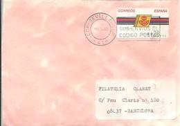 CARTA ETIQUETA 1993  SEVILLA - 1931-Hoy: 2ª República - ... Juan Carlos I