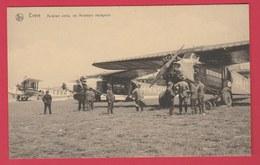 Evere - Aviation Civile, Les Aviateurs Voyageurs ( Voir Verso ) - Evere
