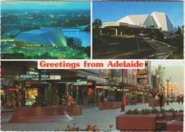 Adelaide Festival Centre & Rundle Mall, South Australia - Unused - Adelaide