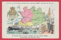 Antwerpen - Postkaart, Beschrijving Van De Provincie ... Amidon Remy ( Verso Zien ) - België