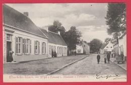 """Moerbeke-Waes - Wijk """" Terwest """" ... Geanimeerd - 1906 ( Verso Zien ) - Moerbeke-Waas"""