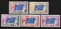 FRANCE   N° 17/21  * *  Conseil De L Europe Drapeaux - Nuevos