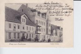 Ak Gumbinnen, Tilsiterstraße, 1907 - Ostpreussen