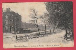 Monceau-sur-Sambre - La Route De Mons Et Le Chemin De Hameau ( Voir Verso ) - Charleroi