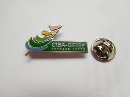 Beau Pin's En EGF , Agriculture , Laboratoires Ciba - Geigy , Espaces Verts , Agricole , Nature , BASF , Rueil , Sandoz - Badges