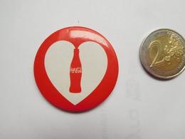Badge ( No Pin's ) , Coca Cola - Coca-Cola