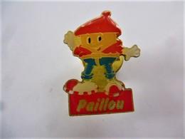 PINS PETIT PERSONNAGE PAILLOU /  33NAT - Food