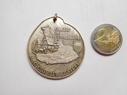 Belle Médaille  ( No Pin's ) , Cyclisme Vélo , Cyclo Club Kilstett , Circuit De L' Unterland - Cycling