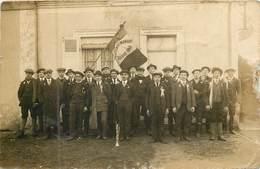 72 Sarthe :  La Ferté Bernard  Conscrits Classe 1918  Carte Photo    Réf 6753 - La Ferte Bernard